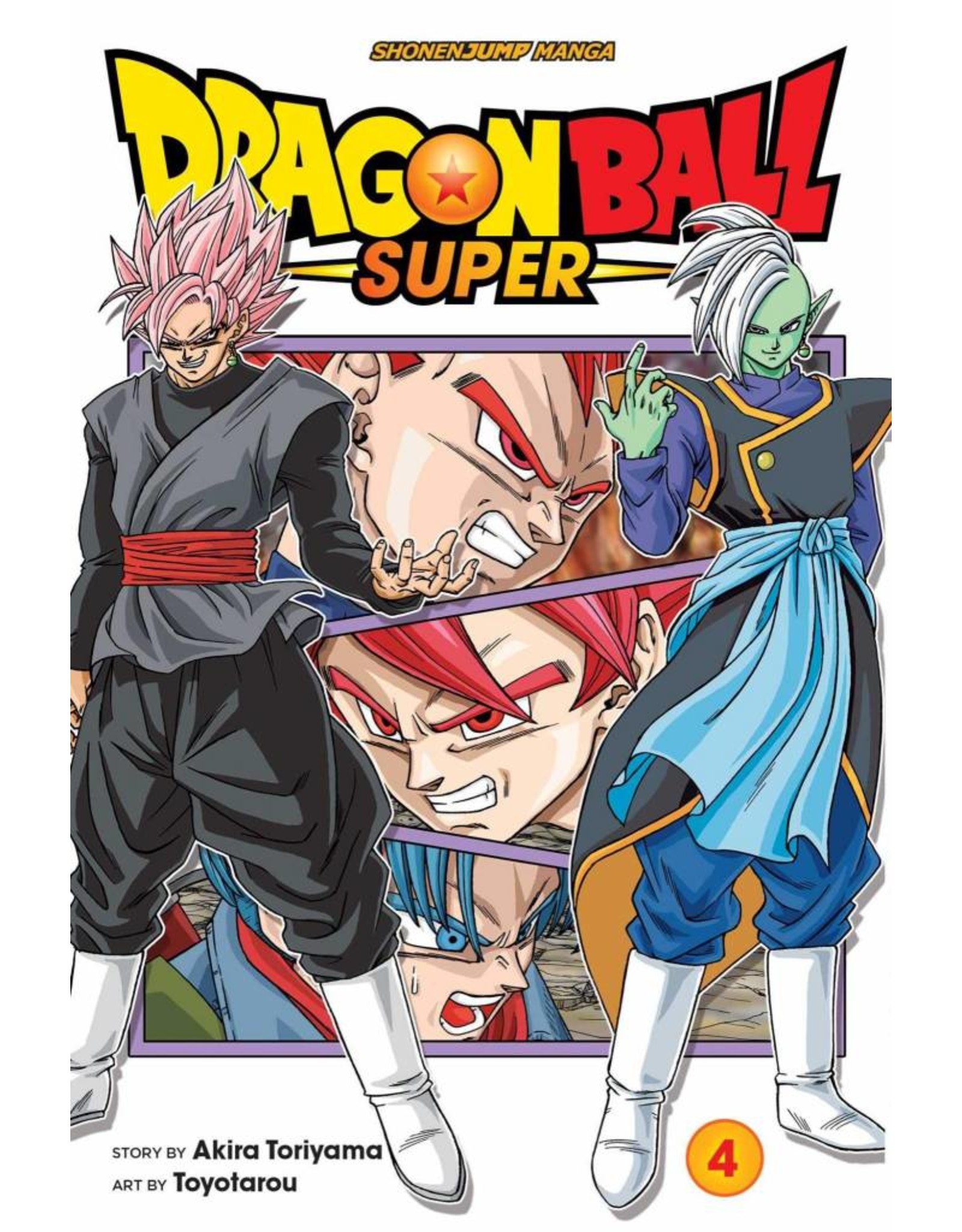VIZ MEDIA LLC DRAGON BALL SUPER GN VOL 04