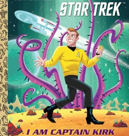 GOLDEN BOOKS I AM CAPTAIN KIRK LITTLE GOLDEN BOOK
