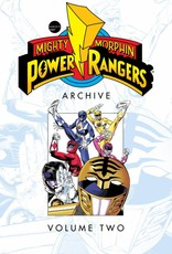 BOOM! STUDIOS MIGHTY MORPHIN POWER RANGERS ARCHIVE TP VOL 02