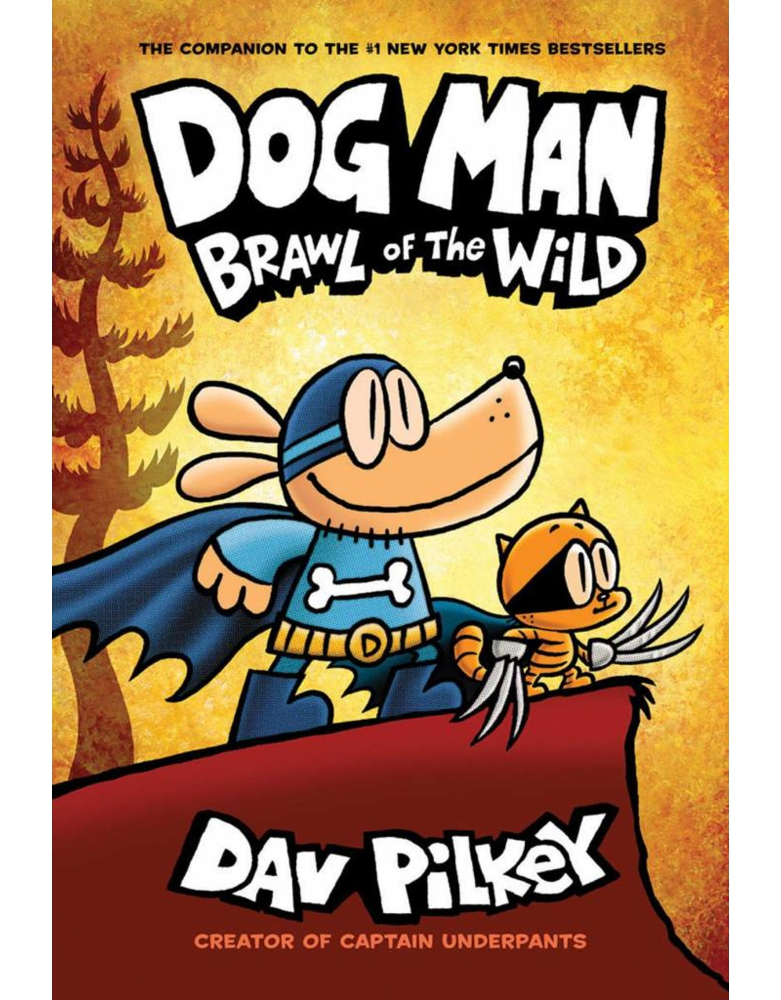 GRAPHIX DOG MAN GN VOL 06 BRAWL OF THE WILD