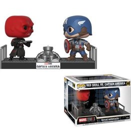 FUNKO POP MOVIE MOMENTS MARVEL RED SKULL VS CAPTAIN AMERICA