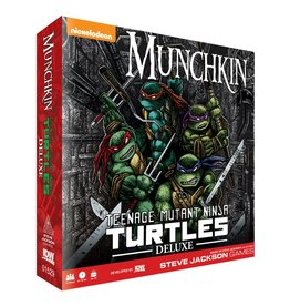IDW GAMES MUNCHKIN TEENAGE MUTANT NINJA TURTLES DELUXE