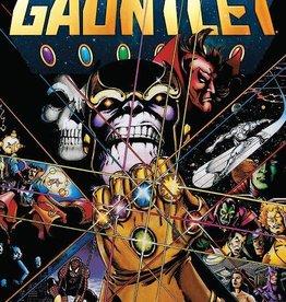 MARVEL COMICS INFINITY GAUNTLET TP DELUXE EDITION