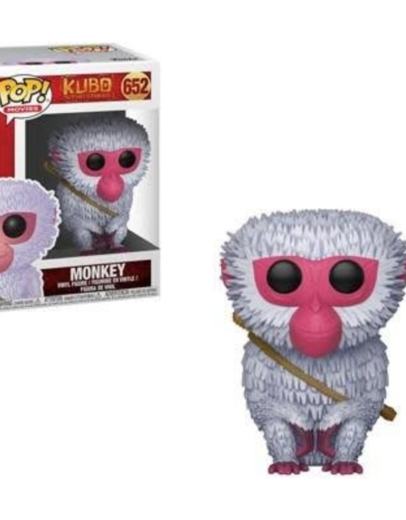 FUNKO POP KUBO AND THE TWO STRINGS MONKEY VINYL FIG