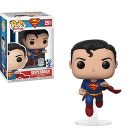 FUNKO POP DC SUPERHEROES SUPERMAN FLYING VINYL FIG