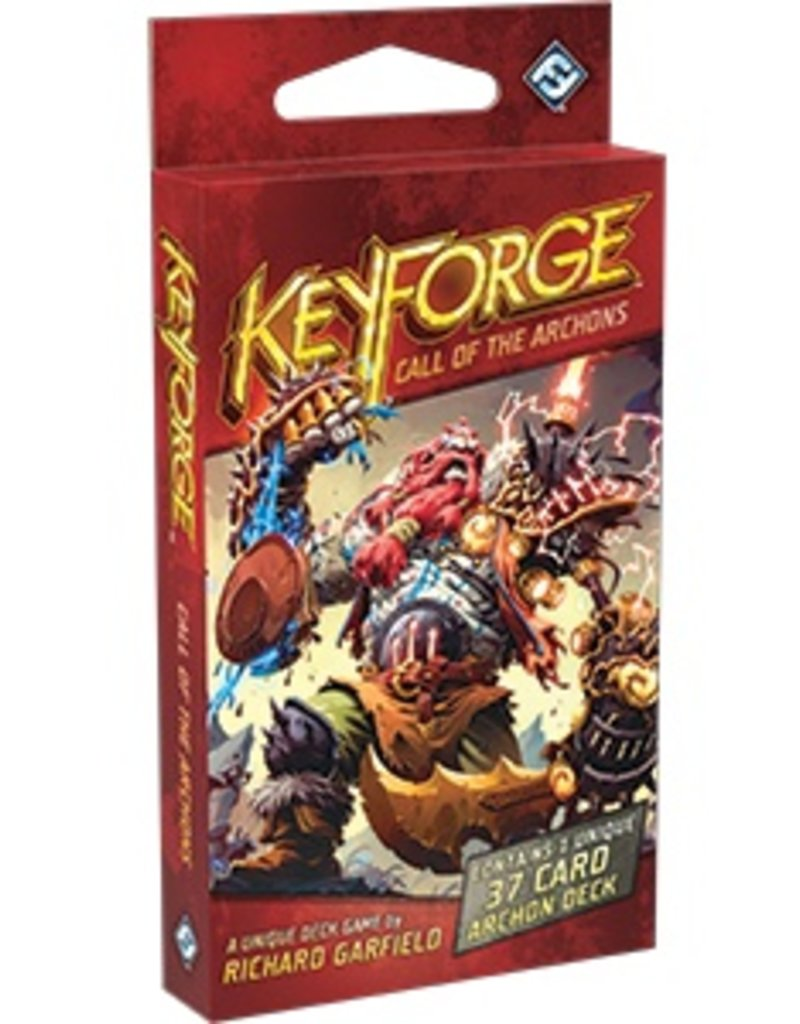 FANTASY FLIGHT GAMES KEYFORGE CALL OF THE ARCHONS DECK