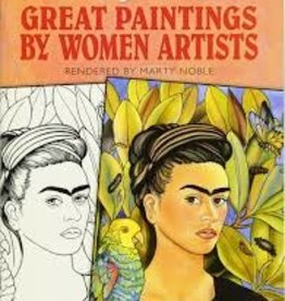 DOVER PUBLICATIONS COLOR YOUR OWN GREAT PAINTINGS BY WOMEN ARTISTS
