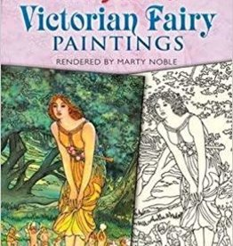DOVER PUBLICATIONS COLOR YOUR OWN VICTORIAN FAIRY PAINTINGS