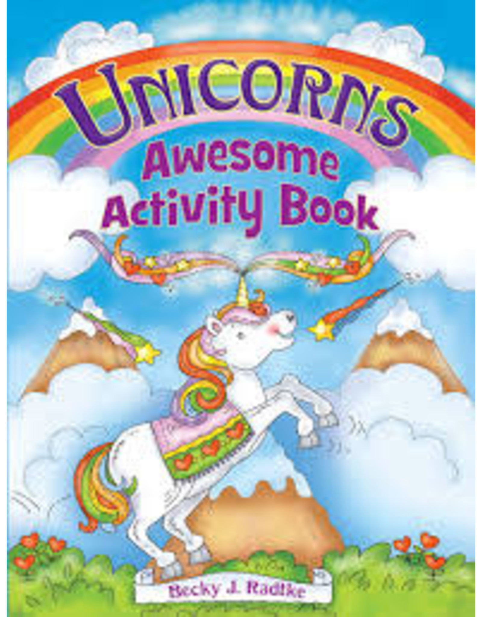 DOVER PUBLICATIONS UNICORNS AWESOME ACTIVITY BOOKS