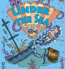 DOVER PUBLICATIONS UNDER THE SEA ADVENTURE COLORING BOOK