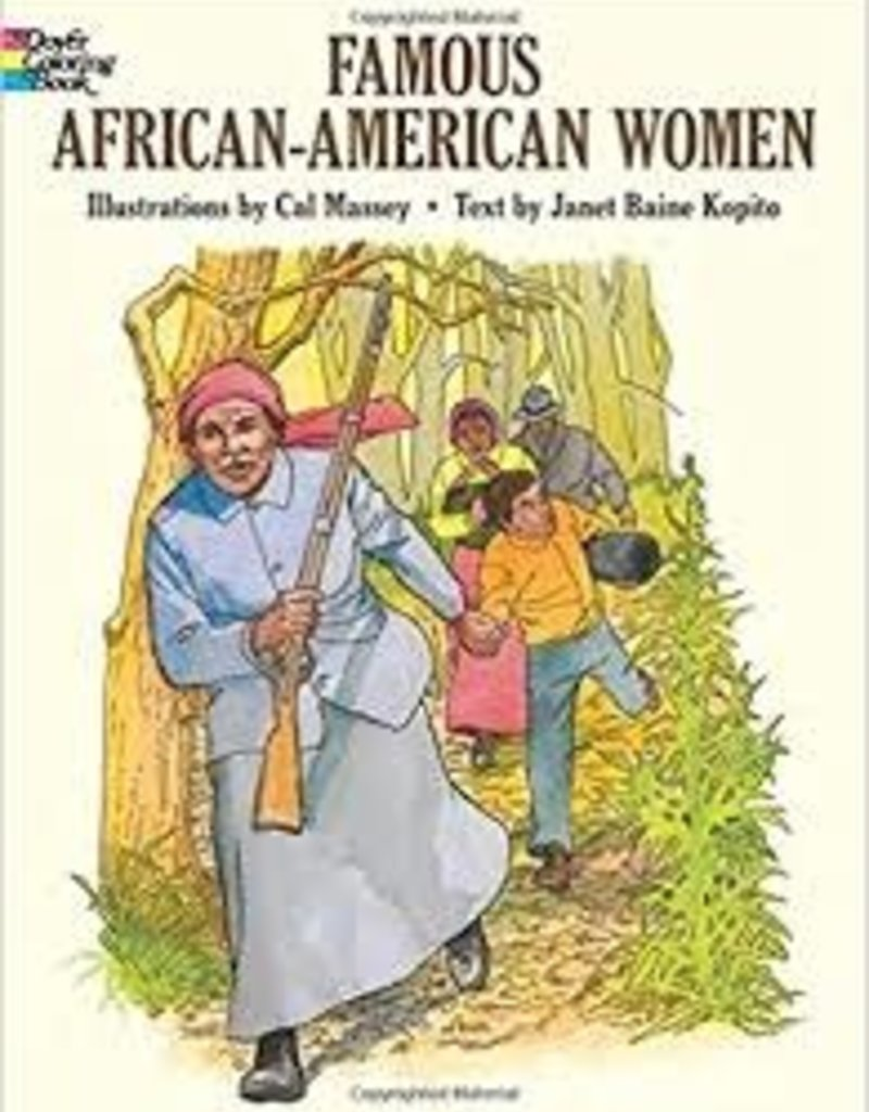 DOVER PUBLICATIONS FAMOUS AFRICAN-AMERICAN WOMEN