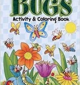 DOVER PUBLICATIONS BUGS ACTIVITY & COLORING BOOK