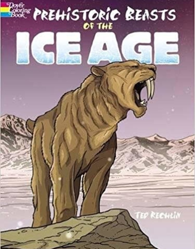 DOVER PUBLICATIONS PREHISTORIC BEASTS OF THE ICE AGE