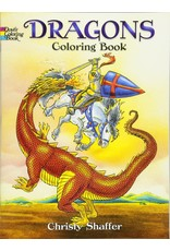 DOVER PUBLICATIONS DRAGONS COLORING BOOK