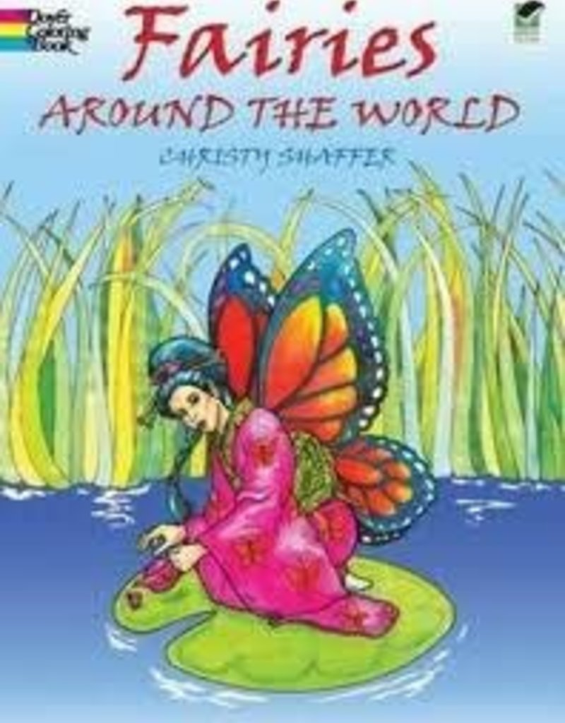 DOVER PUBLICATIONS FAIRIES AROUND THE WORLD CHRISTY SHAFFER
