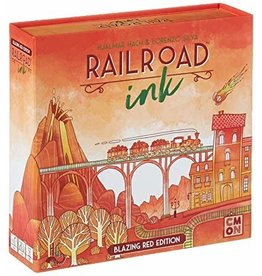 CMON PRODUCTIONS RAILROAD INK BLAZING RED EDITION