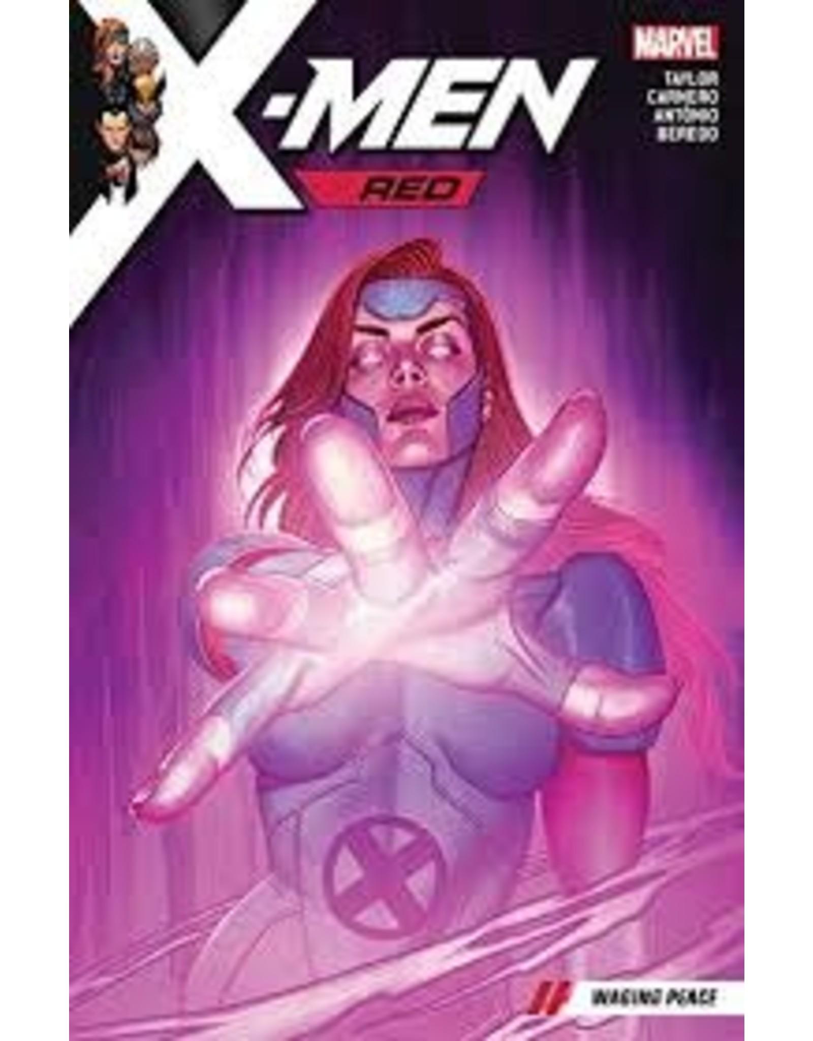 MARVEL COMICS X-MEN RED TP VOL 02 WAGING PEACE