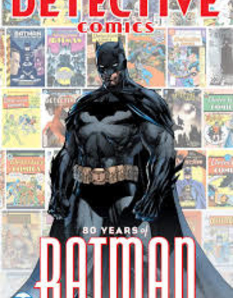 DC COMICS DETECTIVE COMICS 80 YEARS OF BATMAN DLX ED HC