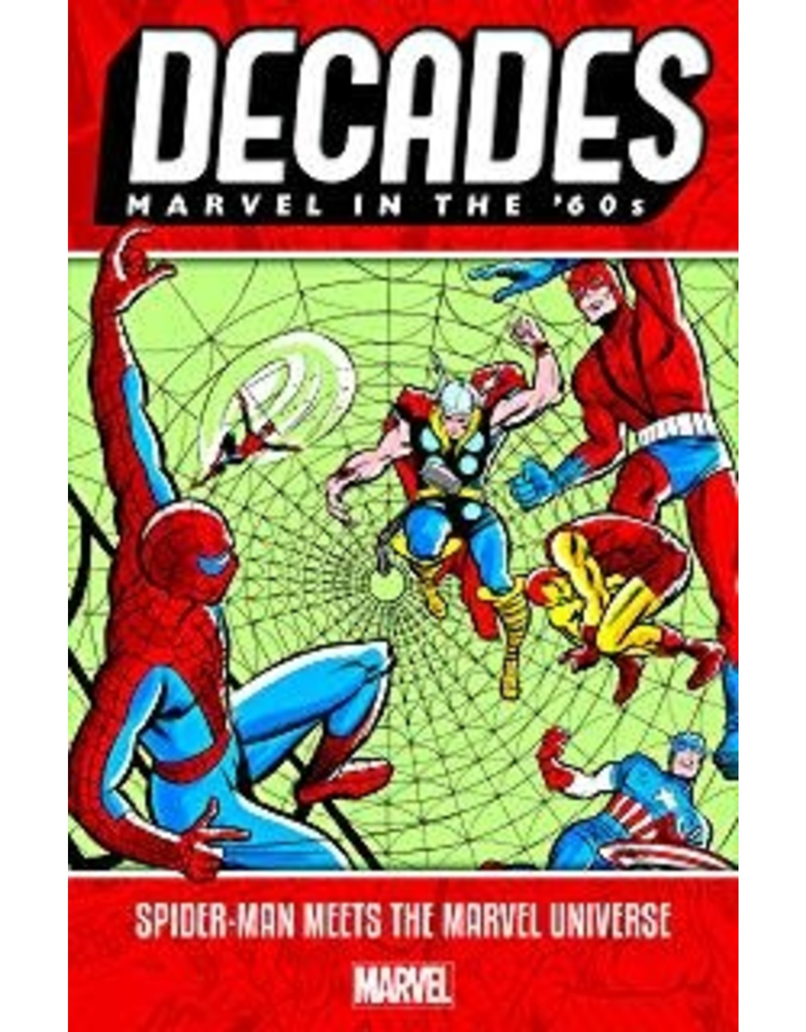MARVEL COMICS DECADES MARVEL 60S TP SPIDER-MAN MEETS MARVEL UNIVERSE