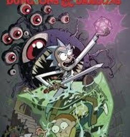 IDW PUBLISHING RICK AND MORTY VS DUNGEONS & DRAGONS TP VOL 01