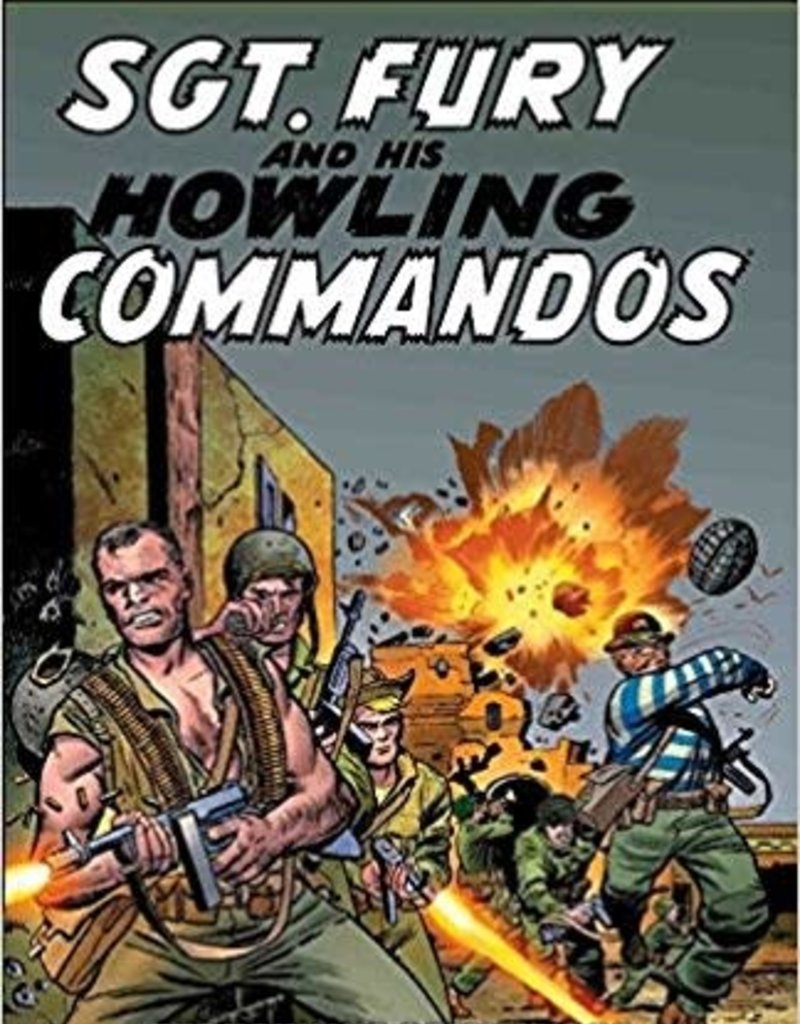 MARVEL COMICS SGT FURY EPIC COLLECTION TP HOWLING COMMANDOS