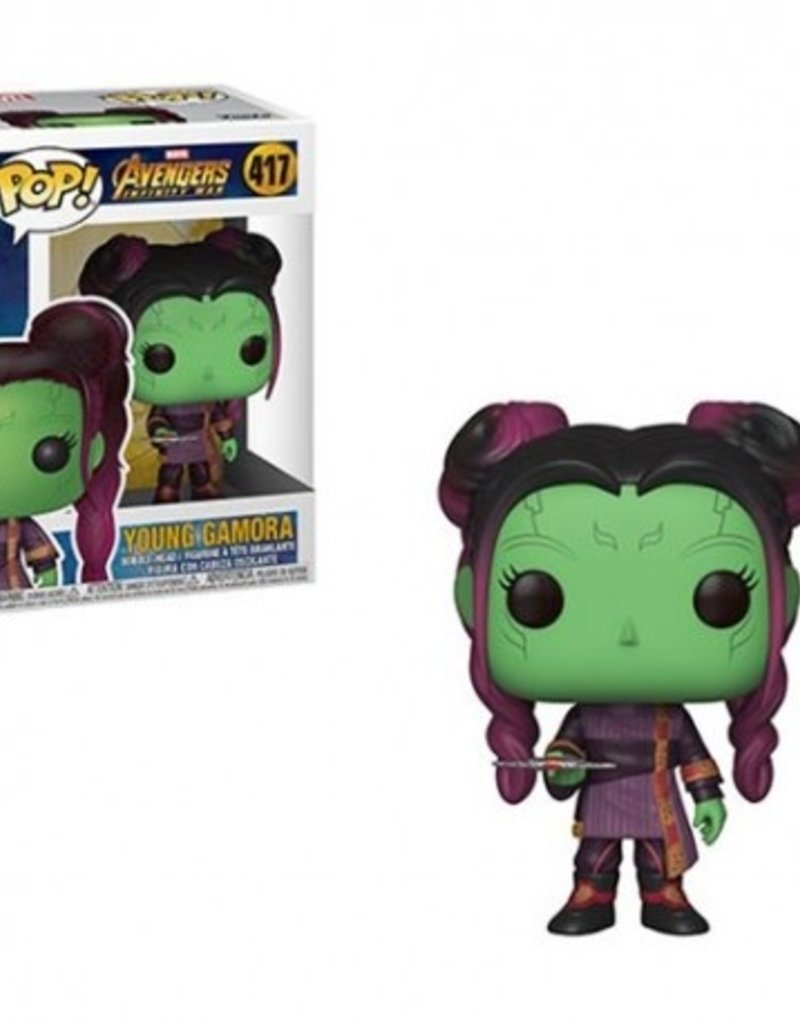 FUNKO POP MARVEL INFINITY WAR S2 YOUNG GAMORA VINYL FIG