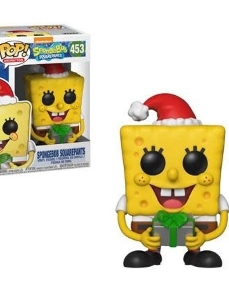FUNKO POP SPONGEBOB SPONGEBOB SQUAREPANTS XMAS VINYL FIG
