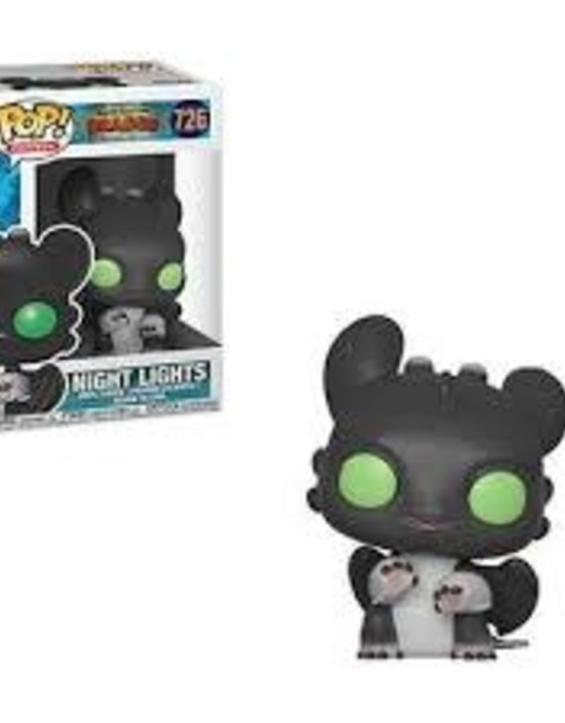 FUNKO POP HOW TO TRAIN YOUR DRAGON 3 NIGHT LIGHT ALLISON VINYL FIG