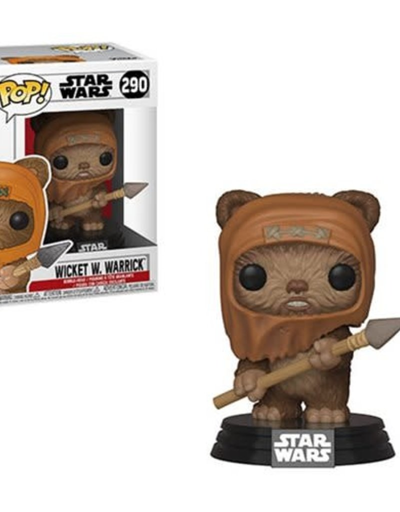 FUNKO POP STAR WARS WICKET W WARRICK VINYL FIG