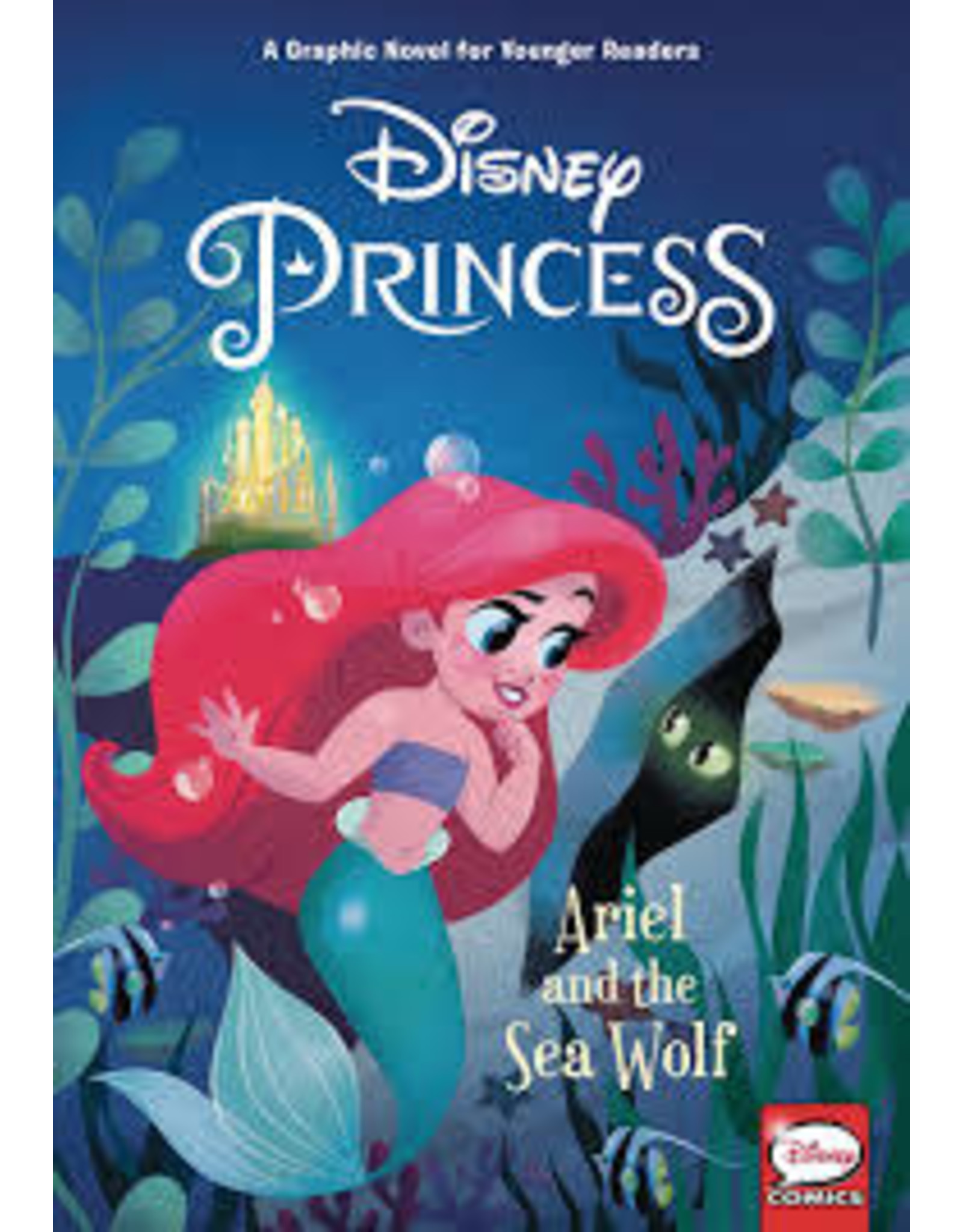 DARK HORSE COMICS DISNEY PRINCESS HC ARIEL AND SEA WOLF