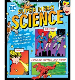 DOWNTOWN BOOKWORKS DC SUPER HERO SCIENCE SC