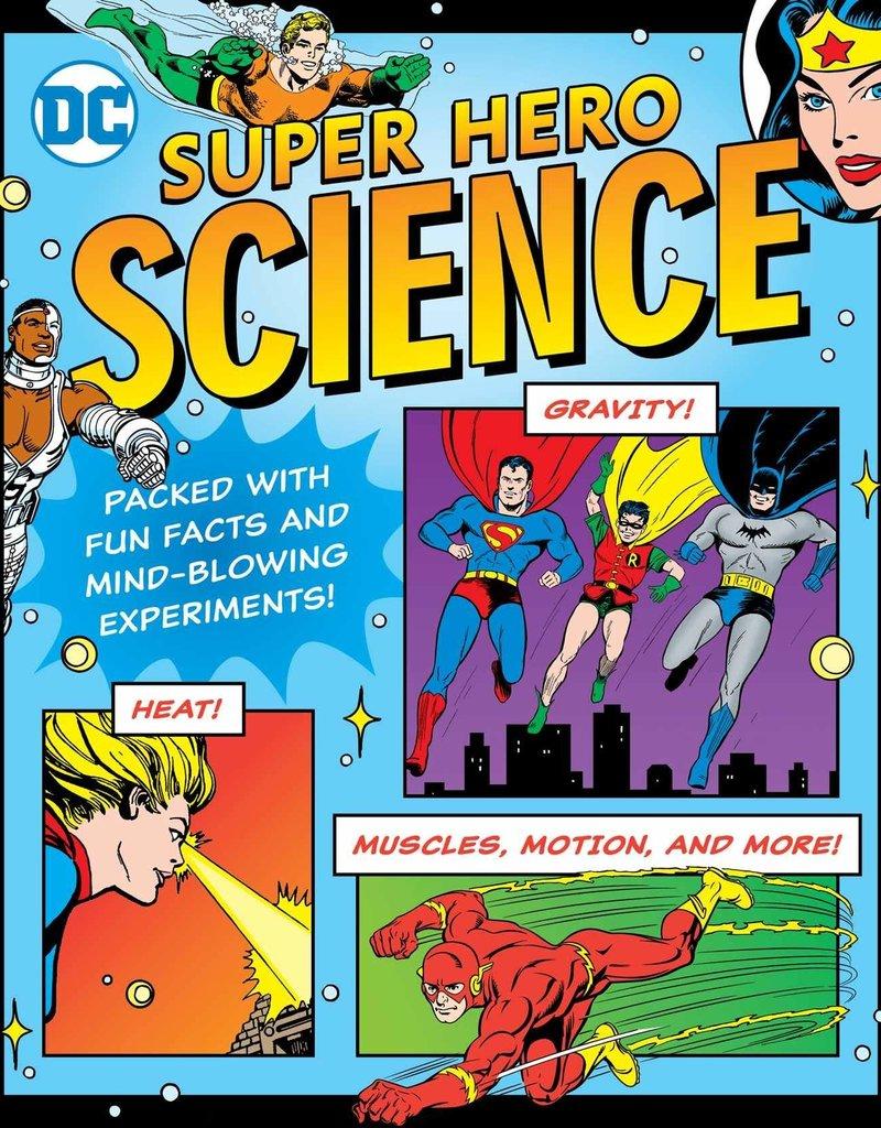 DOWNTOWN BOOKWORKS DC SUPER HERO SCIENCE SC