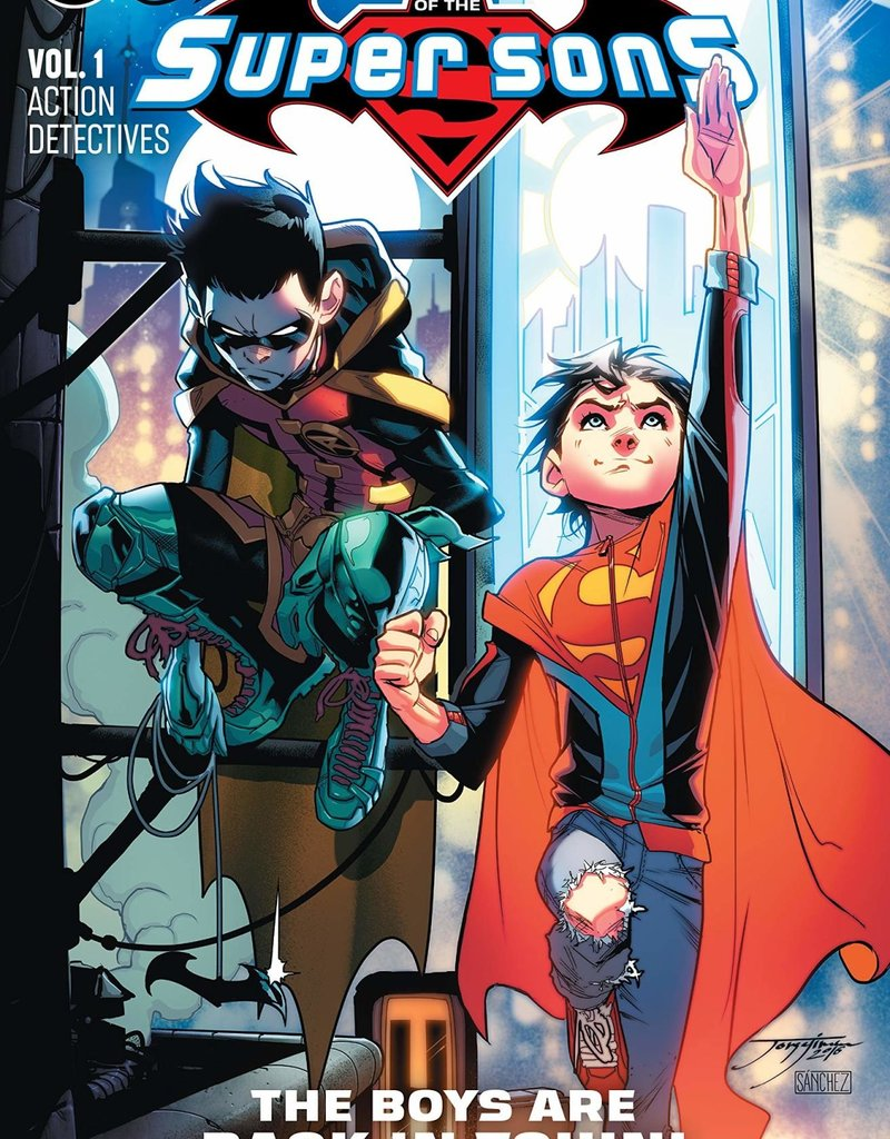 DC COMICS ADVENTURES OF THE SUPER SONS TP VOL 01 ACTION DETECTIVE