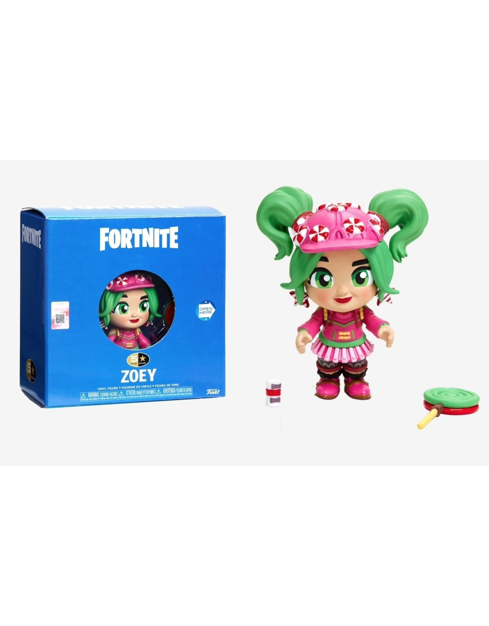 FUNKO 5 STAR FORTNITE ZOEY VINYL FIG
