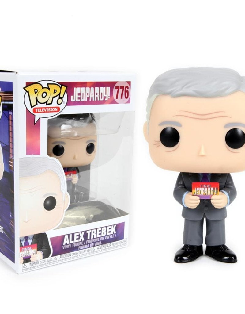 FUNKO POP JEOPARDY ALEX TREBEK VINYL FIG