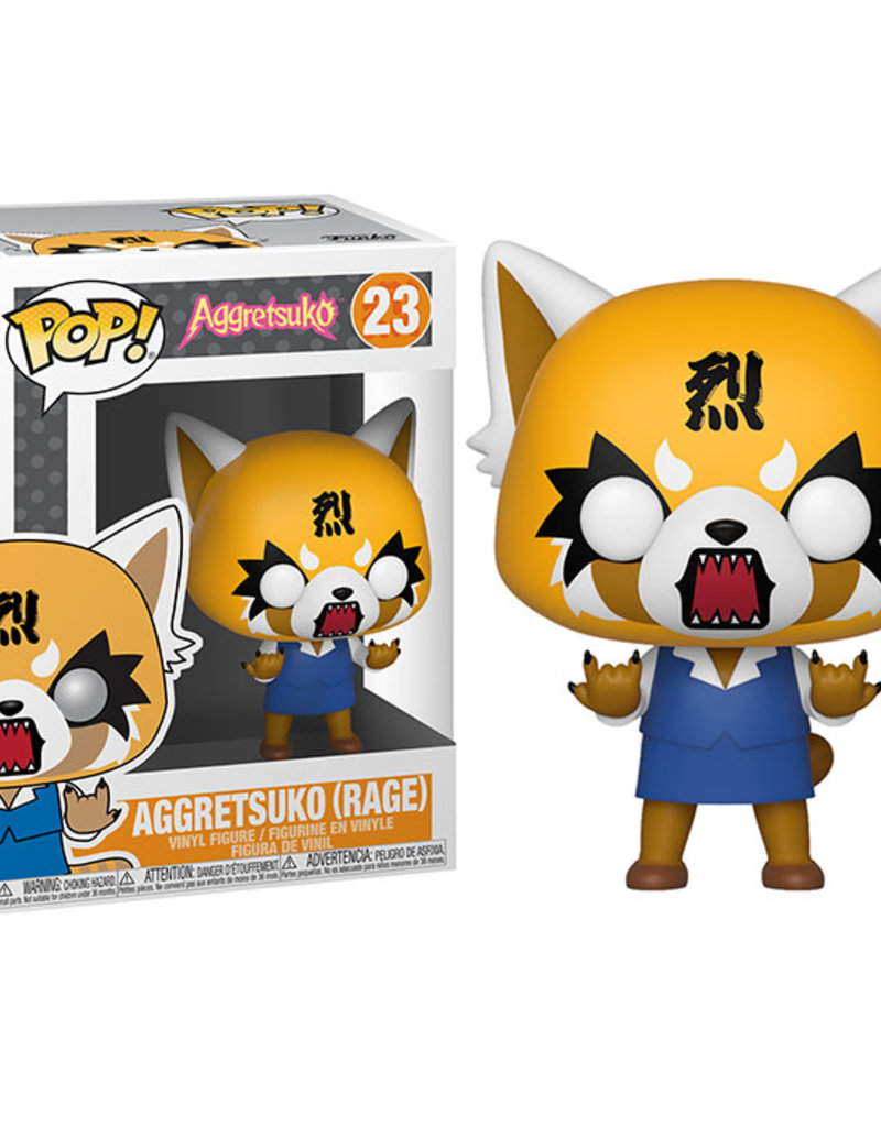 FUNKO POP SANRIO AGGRETSUKO RAGE VINYL FIG