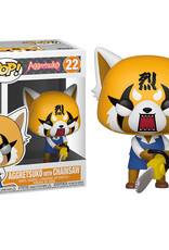 FUNKO POP SANRIO AGGRETSUKO WITH CHAINSAW VINYL FIG