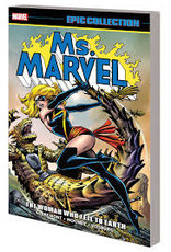 MARVEL COMICS MS MARVEL EPIC COLLECTION TP WOMAN WHO FELL TO EARTH