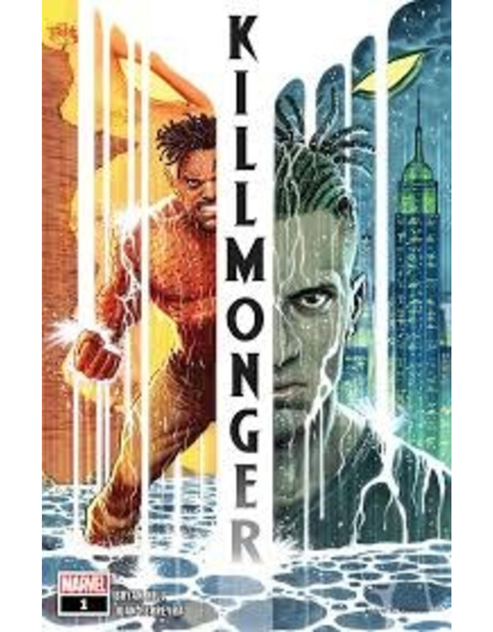 MARVEL COMICS BLACK PANTHER KILLMONGER TP BY ANY MEANS
