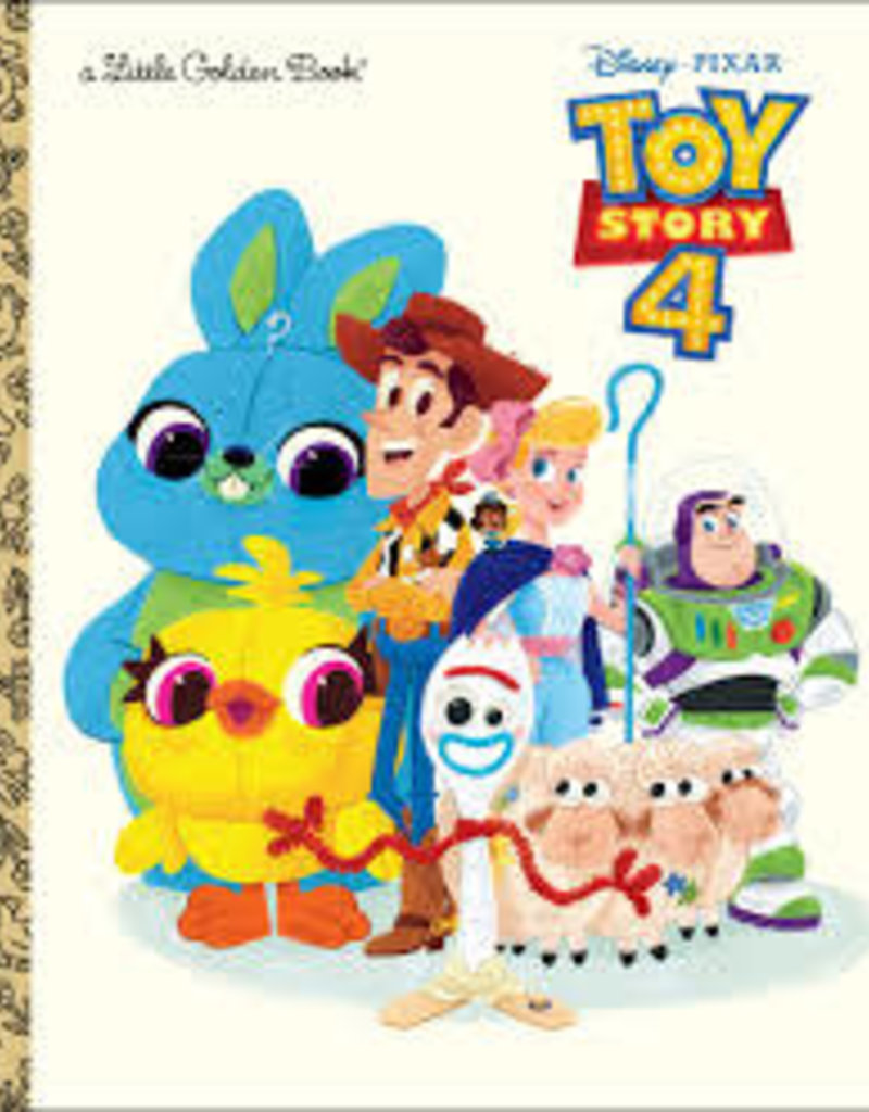 GOLDEN BOOKS DISNEY PIXAR TOY STORY 4 LIITLE GOLDEN BOOK
