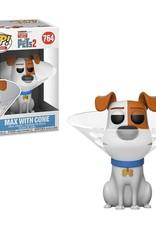 FUNKO POP SECRET LIFE OF PETS 2 MAX WITH CONE VINYL FIG