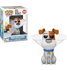 FUNKO POP SECRET LIFE OF PETS 2 MAX WITH CONE VINYL FIG