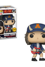 FUNKO POP AC/DC ANGUS YOUNG WITH HORNS CHASE VINYL FIG