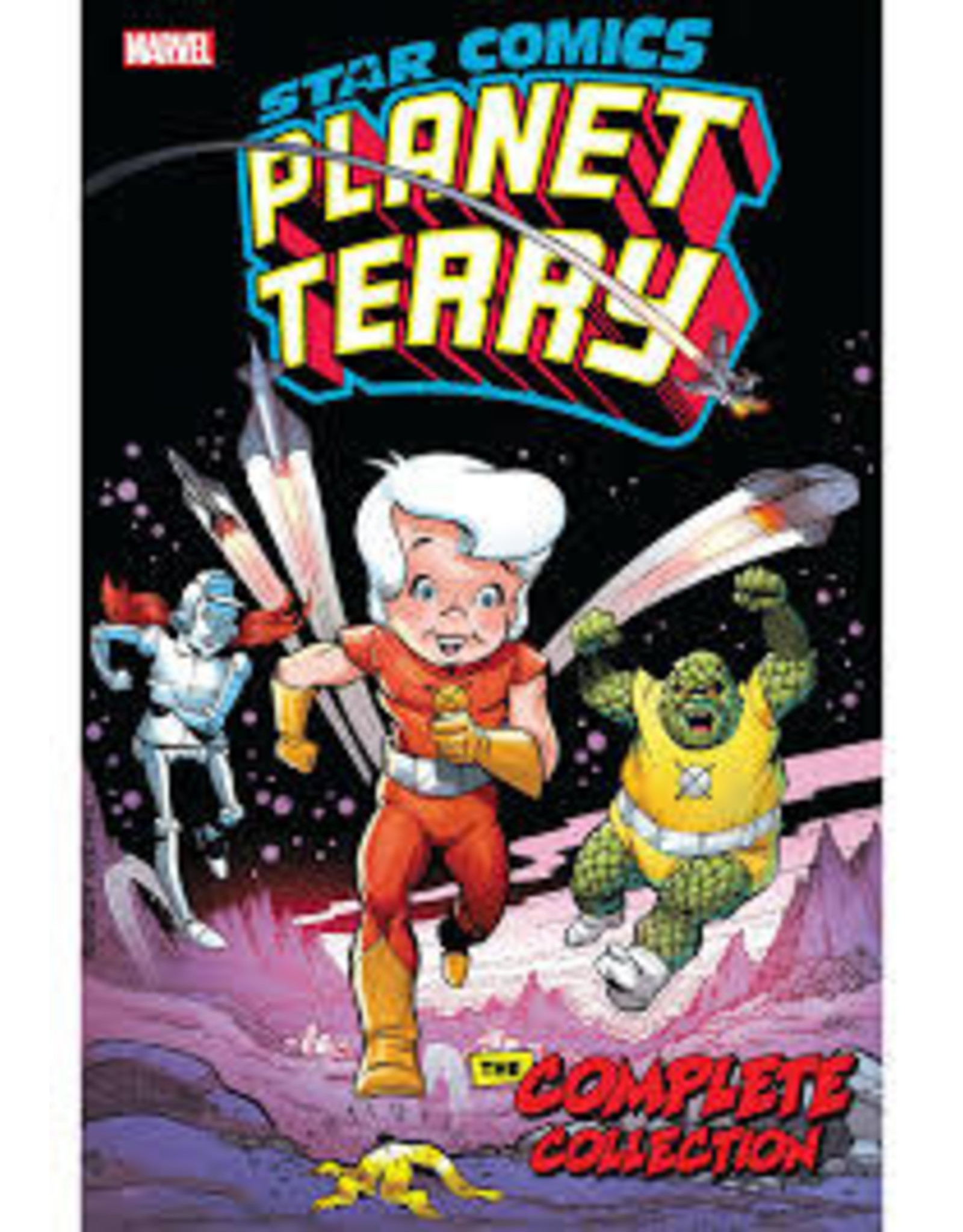 MARVEL COMICS STAR COMICS PLANET TERRY TP COMPLETE COLLECTION