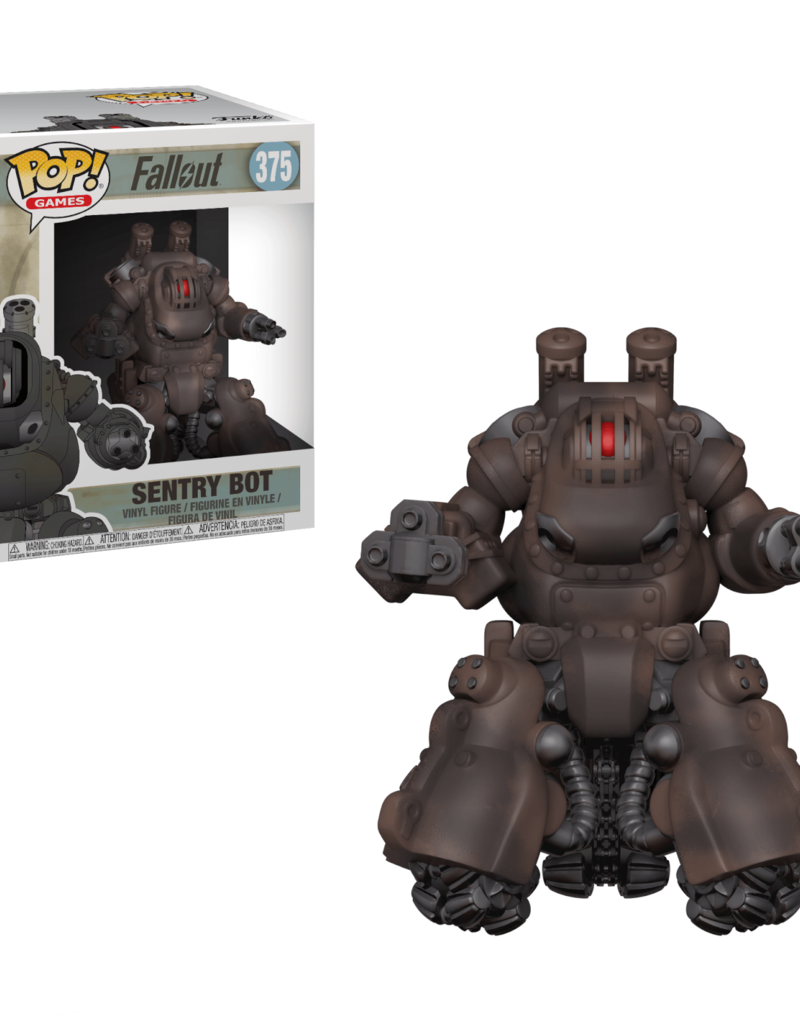 FUNKO POP FALLOUT SENTRY BOT 6IN VINYL FIG