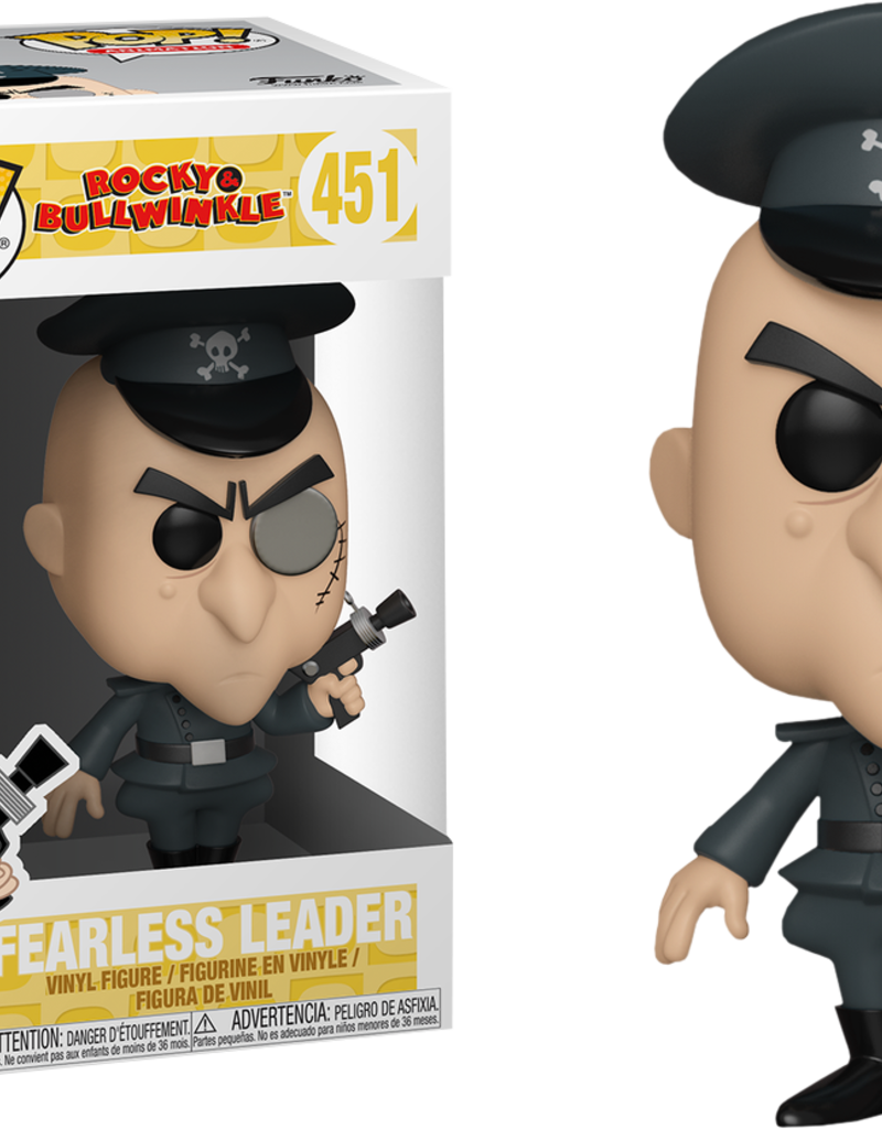 FUNKO POP ROCKY & BULLWINKLE FEARLESS LEADER VINYL FIG
