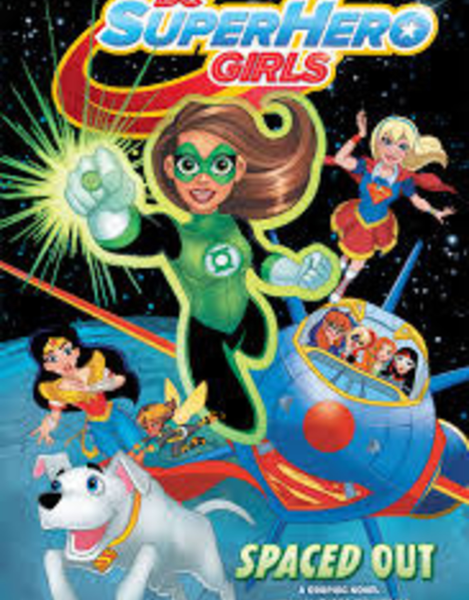 DC COMICS DC SUPER HERO GIRLS SPACED OUT TP