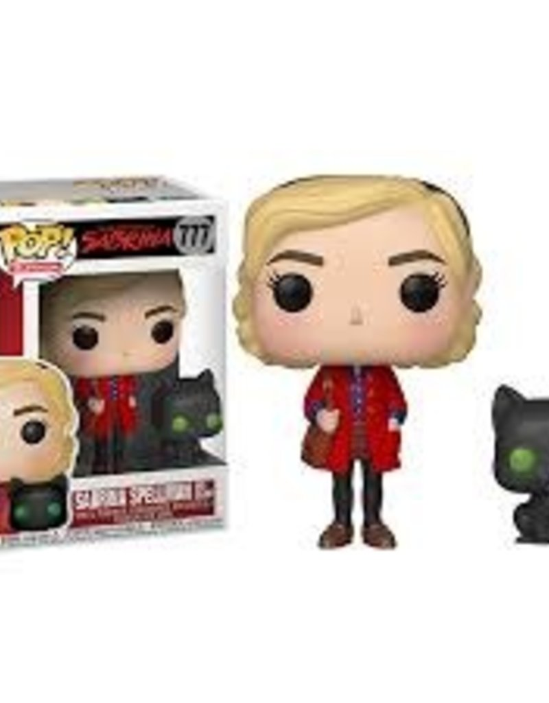 FUNKO POP CHILLING ADVENTURES SABRINA SPELLMAN AND SALEM VINYL FIG