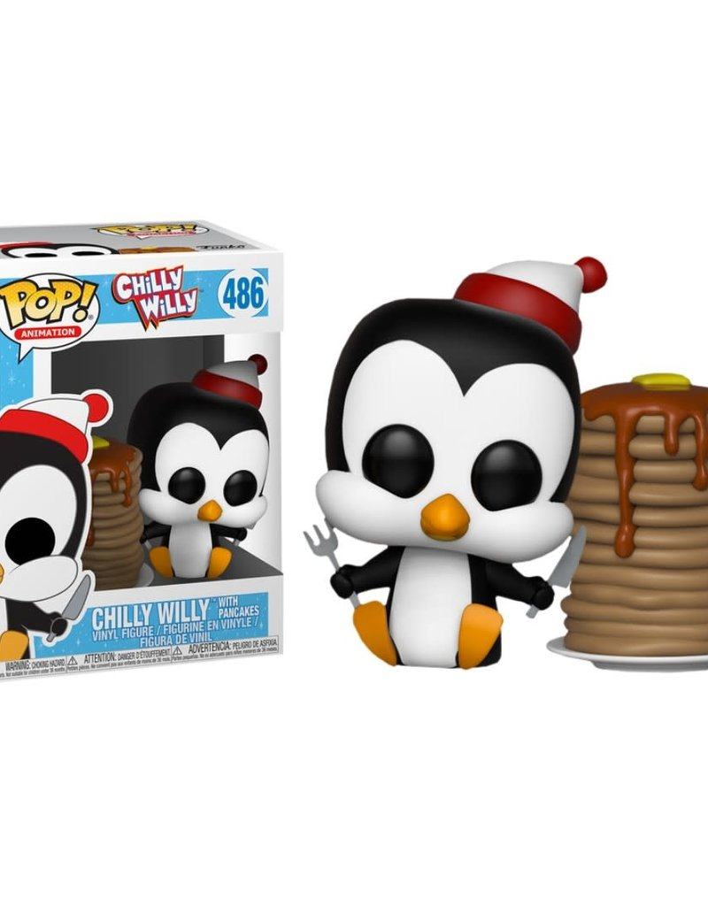 FUNKO POP CHILLY WILLY WITH PANCAKES VINYL FIG