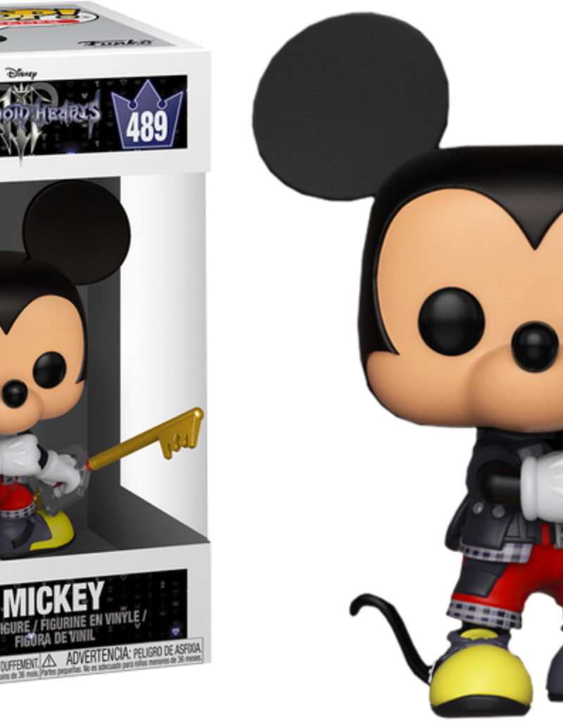 FUNKO POP KINGDOM HEARTS MICKEY VINYL FIG